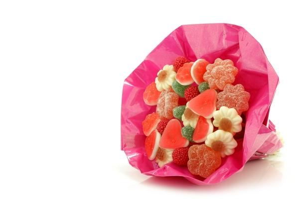 Bukiet z cukierków