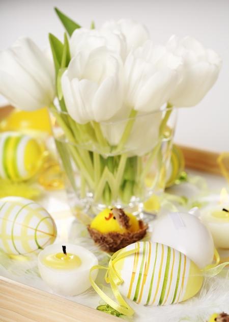 Dekoracyjne tulipany