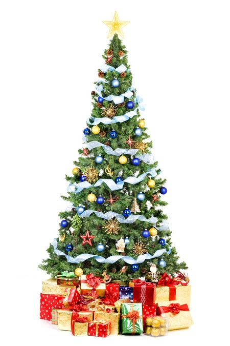 Drzewko świąteczne – delikatne piękno