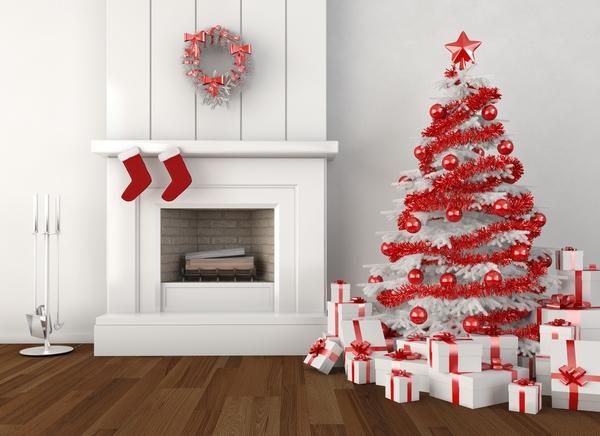 Drzewko świąteczne w barwach narodowych