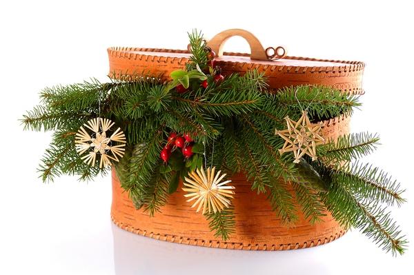 Kosmetyczka jako świąteczna dekoracja