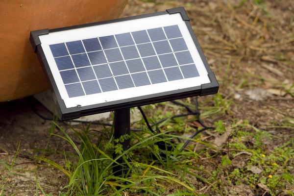 Mały panel słoneczny