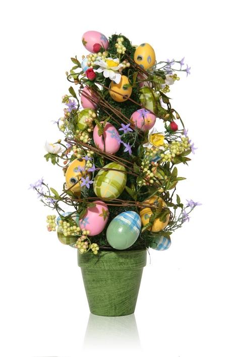 Ozdoby wielkanocne - drzewko wielkanocne