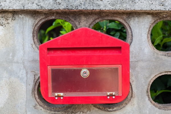 Skrzynka pocztowa- propozycja dziewiąta