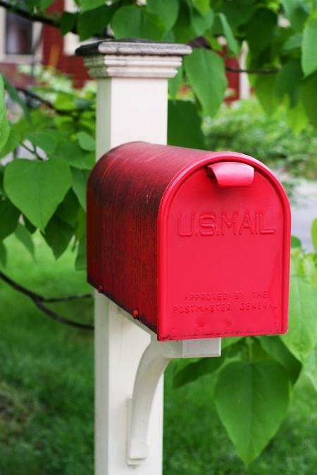 Skrzynka pocztowa – propozycja pierwsza
