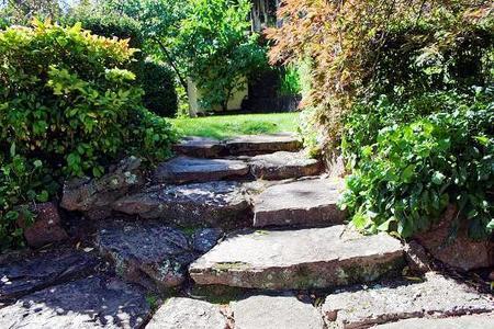 Schody do ogrodu