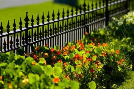 Metalowe ogrodzenia do ogrodu