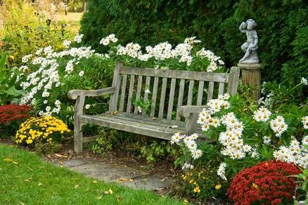 Ławki ogrodowe - galeria zdjęć