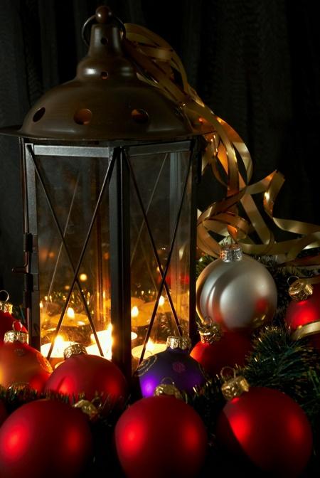 lampa świąteczna