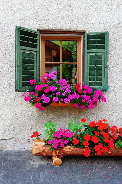 Skrzynki balkonowe