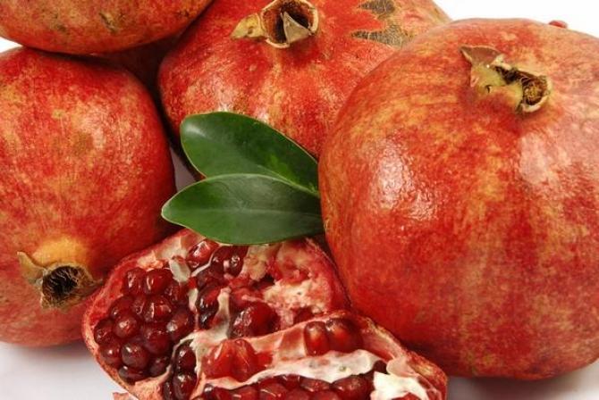 Owoc granatu  właściwości, witaminy i kalorie
