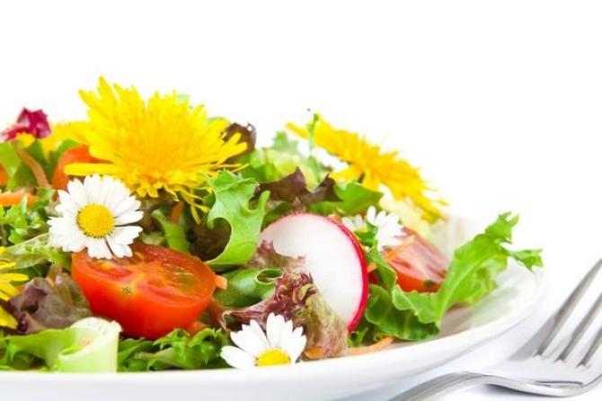 Jadalne kwiaty  rośliny o jadalnych kwiatach
