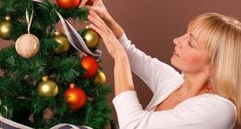 Choinka- pomysł na  świąteczne drzewko