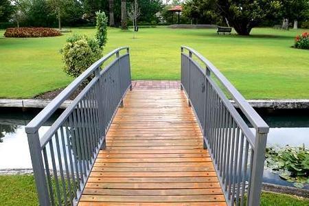 Mostek ogrodowy