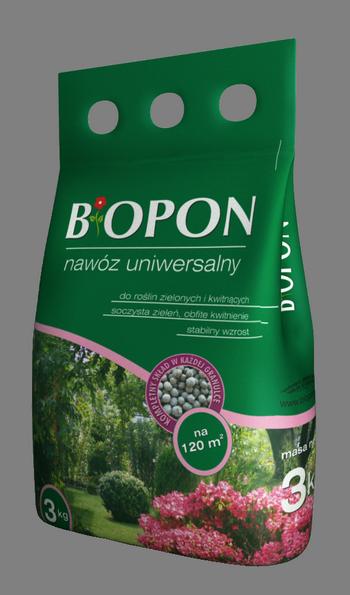 BIOPON nawóz uniwersalny – Gwarancja soczystej zieleni, obfitego kwitnienia i stabilnego wzrostu