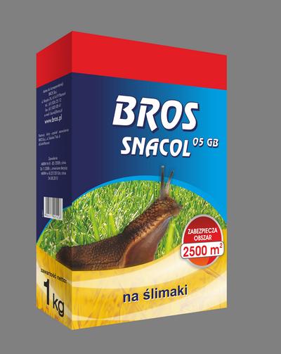 BROS Snacol – skutecznie zwalcza ślimaki