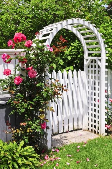 Brama ogrodowa