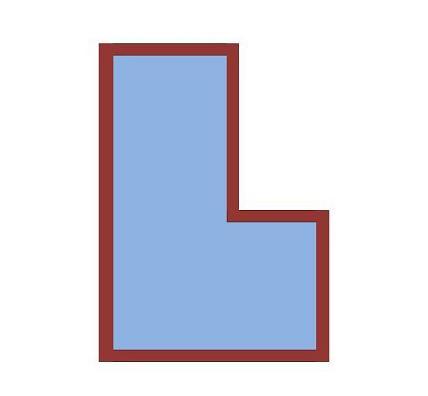 Basen w kształcie litery L