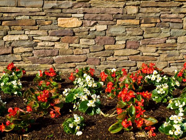 Kamienie dekoracyjne - kamienne ogrodzenia