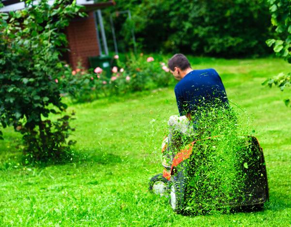 Koszenie trawy i trawników