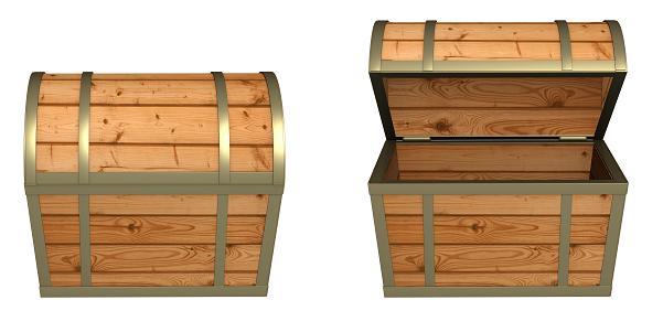 Skrzynie drewniane - kufry