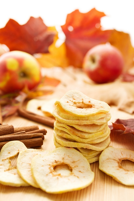 Suszone owoce - jabłka