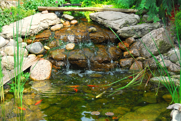 Kamienie dekoracyjne for Como se hace un lago artificial